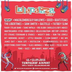 Lollapalooza Berlin zeigt erste Acts