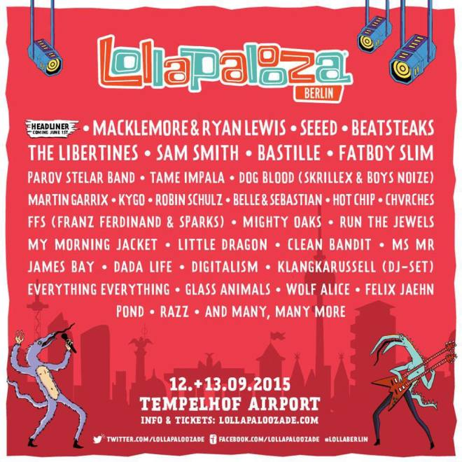 lollapalooza berlin - acts image