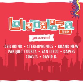 Lollapalooza Berlin mit zweiter Bandwelle