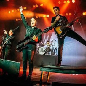 Fall Out Boy in der Columbiahalle  - Let's Be Alone Together