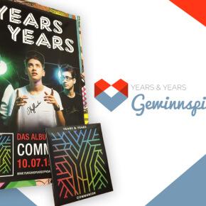 Verlosung // Years & Years signiertes Tourposter & Vinyl