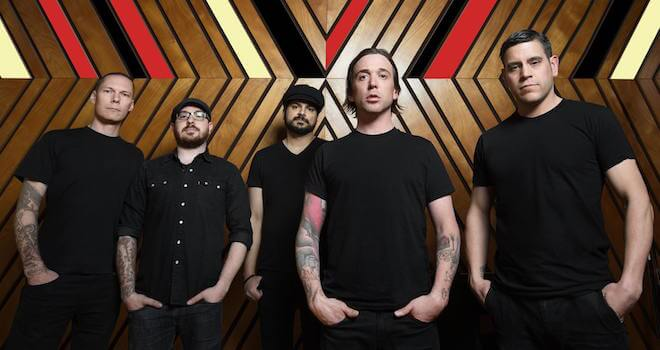 Billy Talent Pressefoto 2016