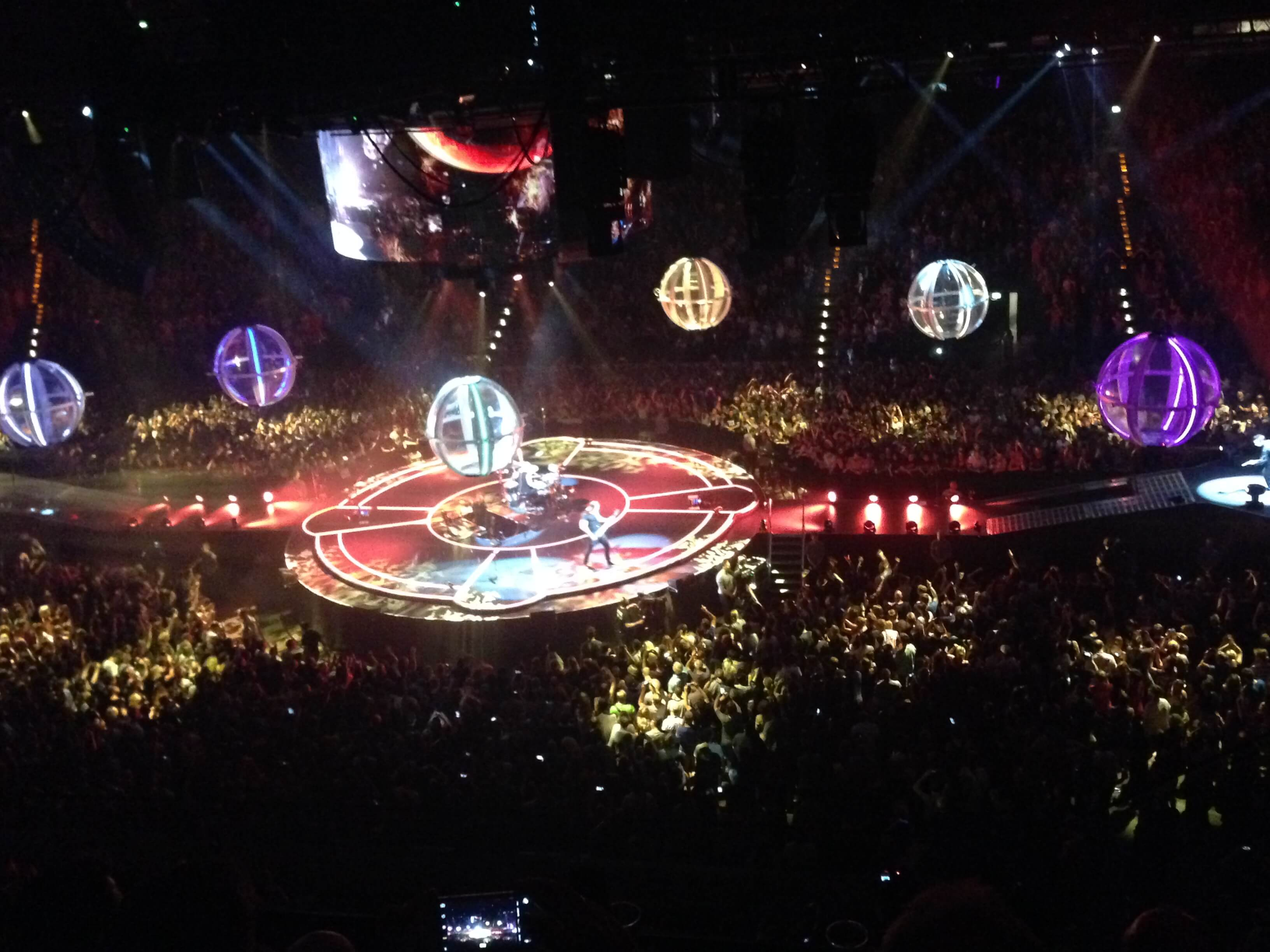 Muse performen Supermassiv Black Hole