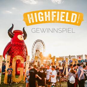 Highfield Festival 2016: Wir verlosen 2 tolle Fanpakete
