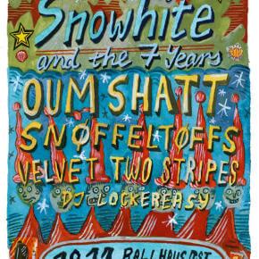 Snowhite And The Seven Years - das Label wird sieben
