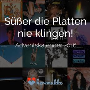 Süßer die Platten nie klingen // Vinyl-Adventskalender 2016