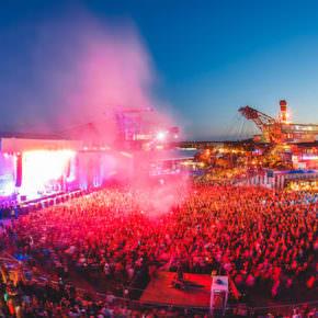 Melt Festival 2018 - Feiern in der Stadt aus Eisen