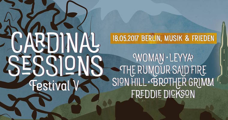 Cardinal Sessions Festival V Lineup Plakat