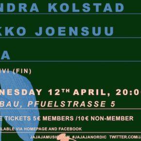 Ja Ja Ja am 12. April im FluxBau (+Verlosung)