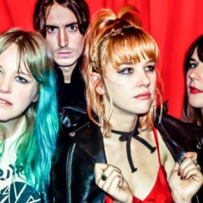 Teenage-Power-Pop // Bleached am 01.07. im Badehaus
