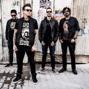 Papa Roach am 16.09. im Velodrom in Berlin