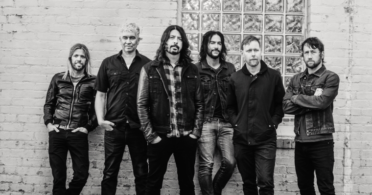 Foo Fighters Pressefoto von Brantley Gutierrez
