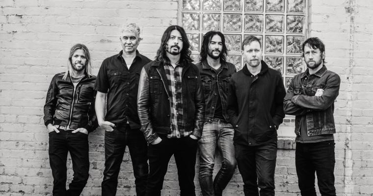 Foo Fighters Pressefoto von Brantley Gutierrez