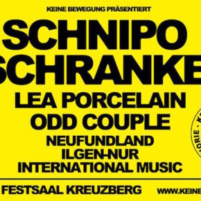 Keine Bewegung Festival im Festsaal Kreuzberg am 01.12.