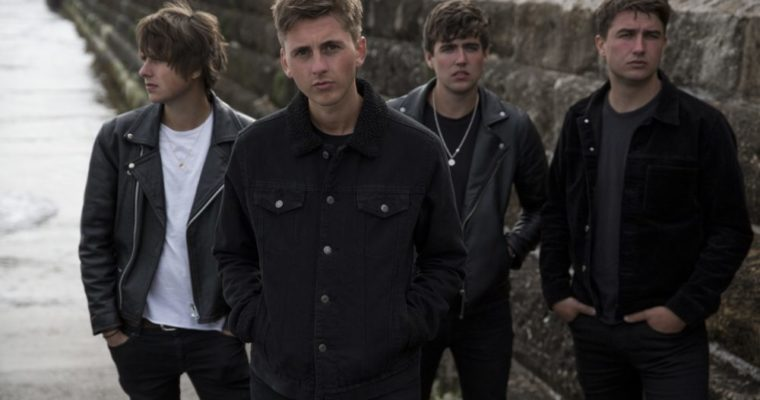 The Sherlocks Pressefoto von Andrew Cotterill