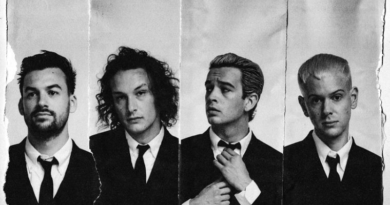 The 1975 Love It If We Made It Pressefoto