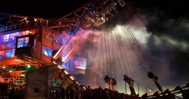 Melt Festival bei Nacht