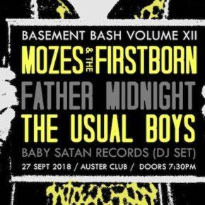 Basement Bash Vol.XII am 27.09. im Auster Club Berlin