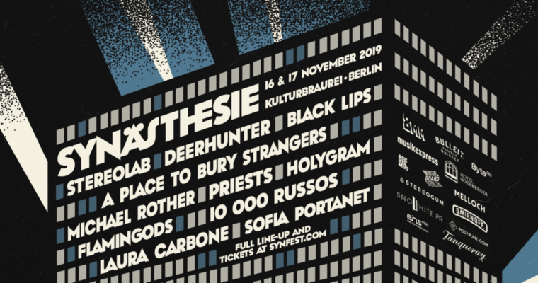 Synästhesie line up 2019 poster