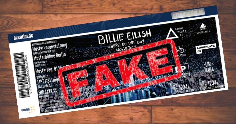Betrüger bieten bei Facebook gefälschte Konzert-Tickets an