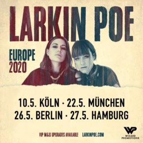 Larkin Poe am 26.05.2020 | Huxleys Neue Welt Berlin