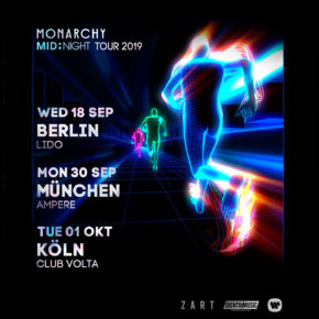 Monarchy am 20.10.2019 | Privatclub Berlin