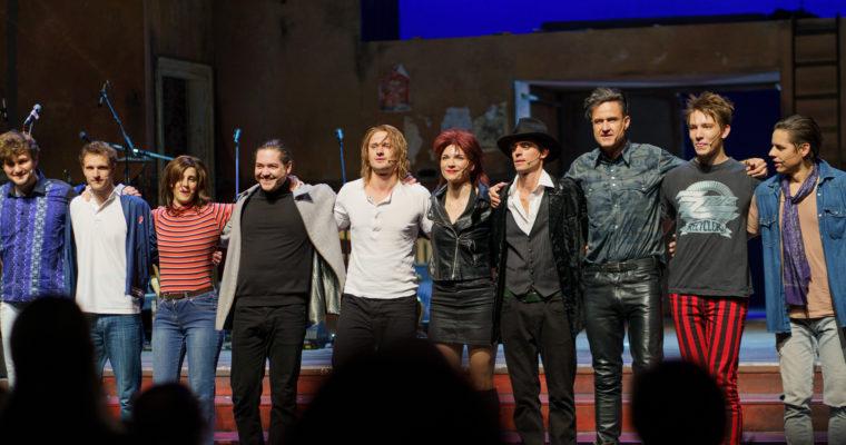Schauspieler des Rio Reiser Musicals in Berlin