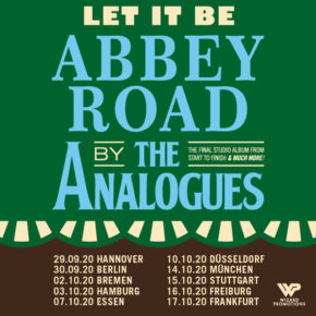 The Analogues am 30.09.2020 | Admiralspalast Berlin