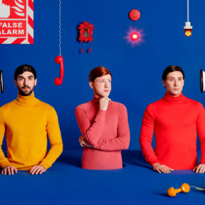 Two Door Cinema Club im Januar in der Columbiahalle