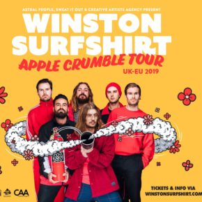 Winston Surfshirt am 23.02.2020 | Cassiopeia Berlin