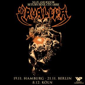 Max & Iggor Cavalera am 21.11.2019 | Kesselhaus Berlin