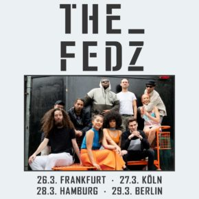 The Fedz am 29.03.2020 | Lido Berlin