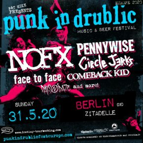 Punk In Drublic am 31.05.2020 | Zitadelle