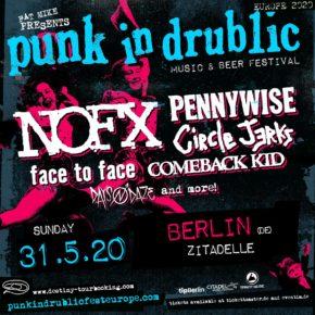 Punk In Drublic am 31.05.2020 | Zitadelle